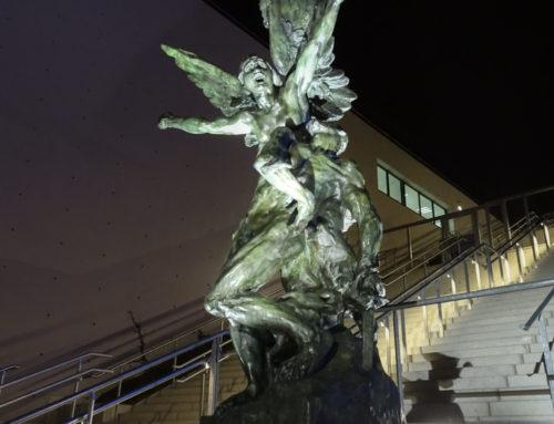 """Statut de Rodin """"La Défense"""", La Scène Musicale"""