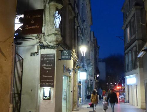 Aménagement de la rue de la Bonneterie et de l'arrière des Halles