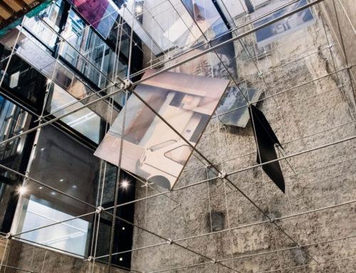 Mise en lumière de l'œuvre « Abscisses et Ordonnées » d'Aurélie Pétrel